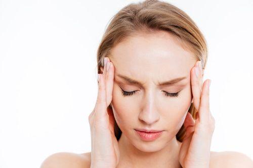 Women having Headache
