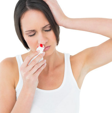 Chronic Nosebleeds Now Have Simple Solutions and how to stop a nosebleed
