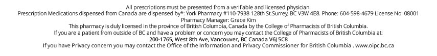 Maple Leaf Meds Disclaimer